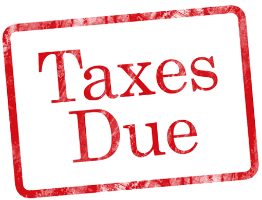 TAX DUE DATE - Due Date PNG