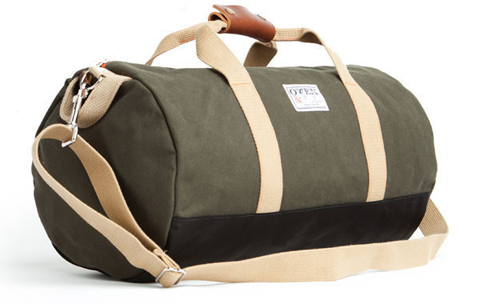army-green-duffel-bag-owen-and-fred_grande - Duffel Bag PNG
