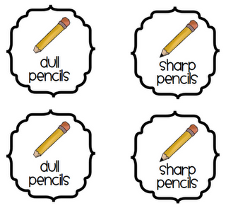 3rd Grade Thoughts: Classroom Supplies: Sharp u0026 Dull Pencils - Dull Pencil PNG