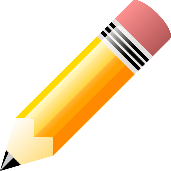 Dull Pencil Clip Art | Free Here - Dull Pencil PNG