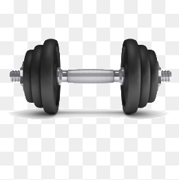 A dumbbell, Movement, Fitness, Metal PNG Image - Dumbbell HD PNG