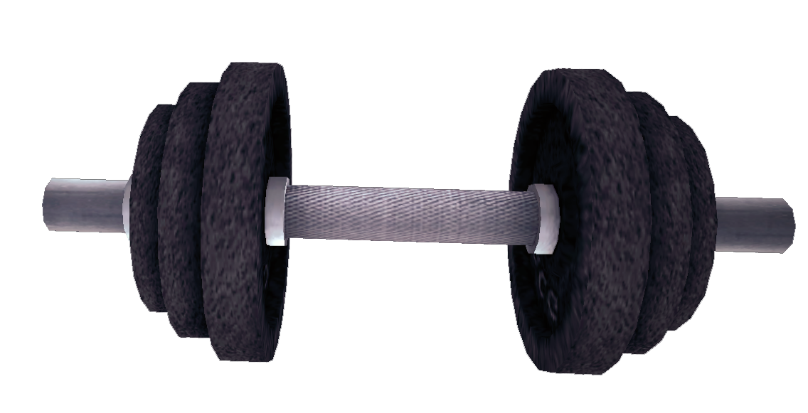 Dead rising Dumbbell (Dead Rising 2).png - Dumbbell HD PNG