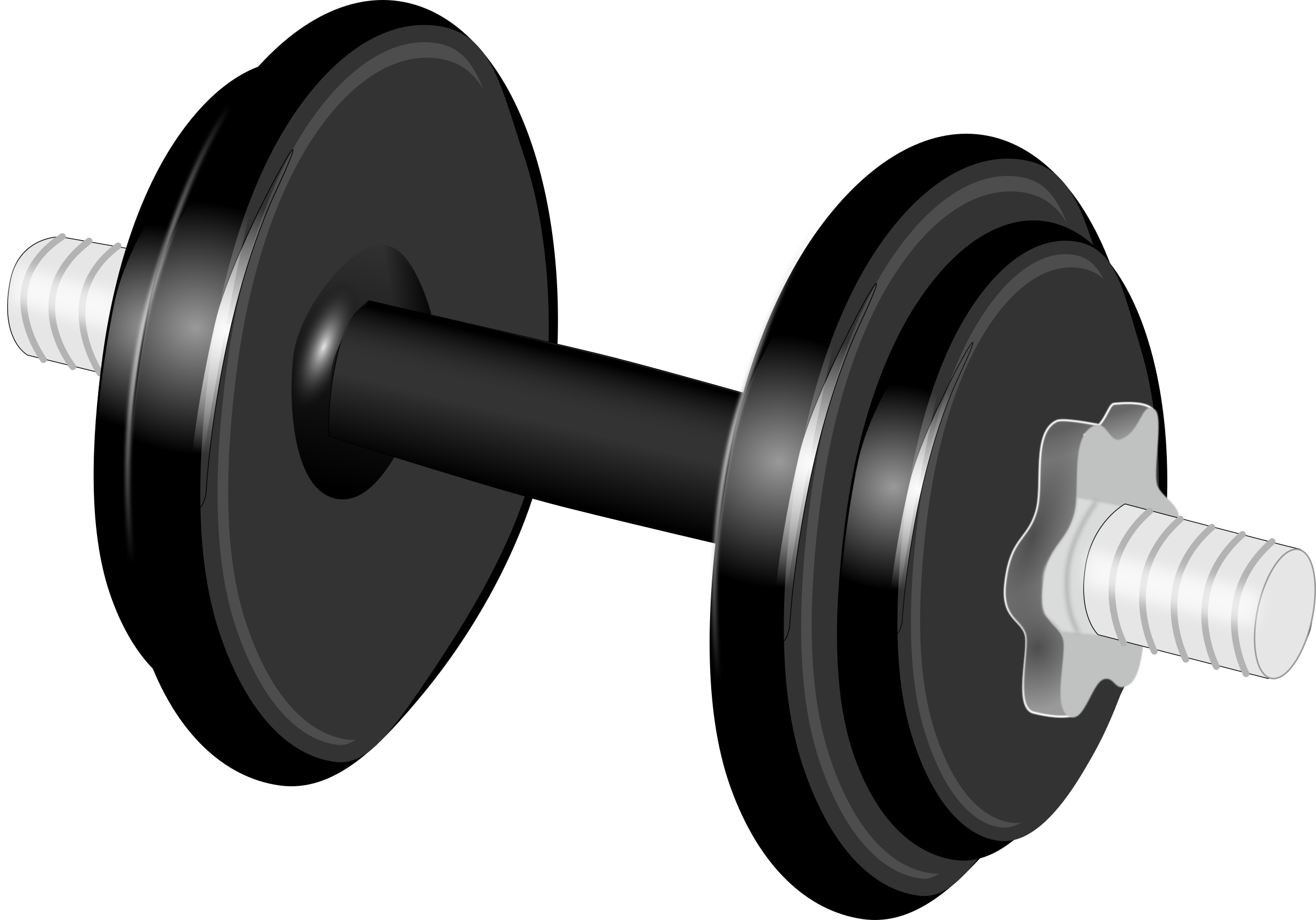 Dumbbell HD PNG - 93747
