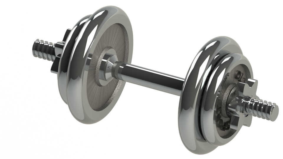 Dumbbell HD PNG - 93741