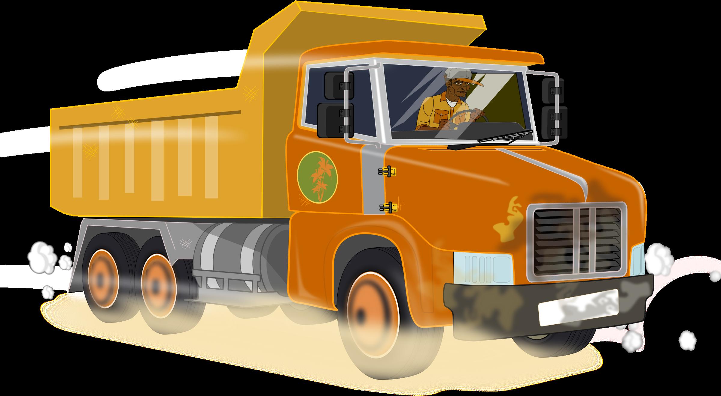 Dump Truck PNG HD-PlusPNG.com-2400 - Dump Truck PNG HD