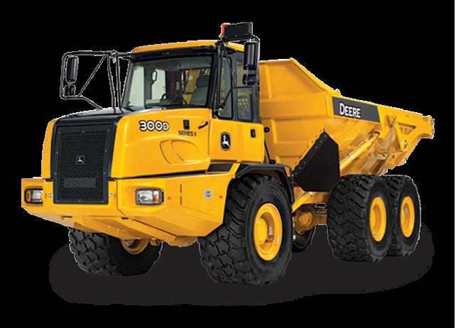 300D-Series II Articulated Dump Truck - Dump Truck PNG HD