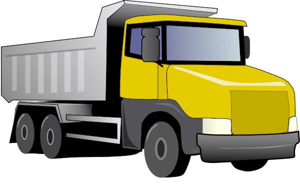 Dump truck cartoon clipart kid - Dump Truck PNG HD