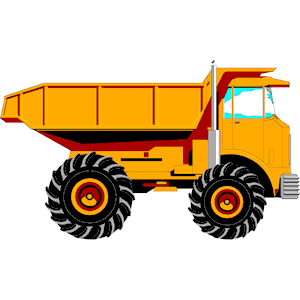 Mack Dump Truck Clipart - Dump Truck PNG HD