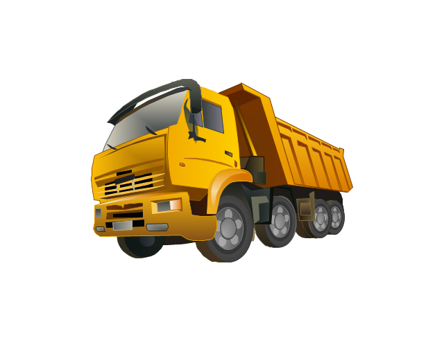 Dump Truck PNG HD - 128011