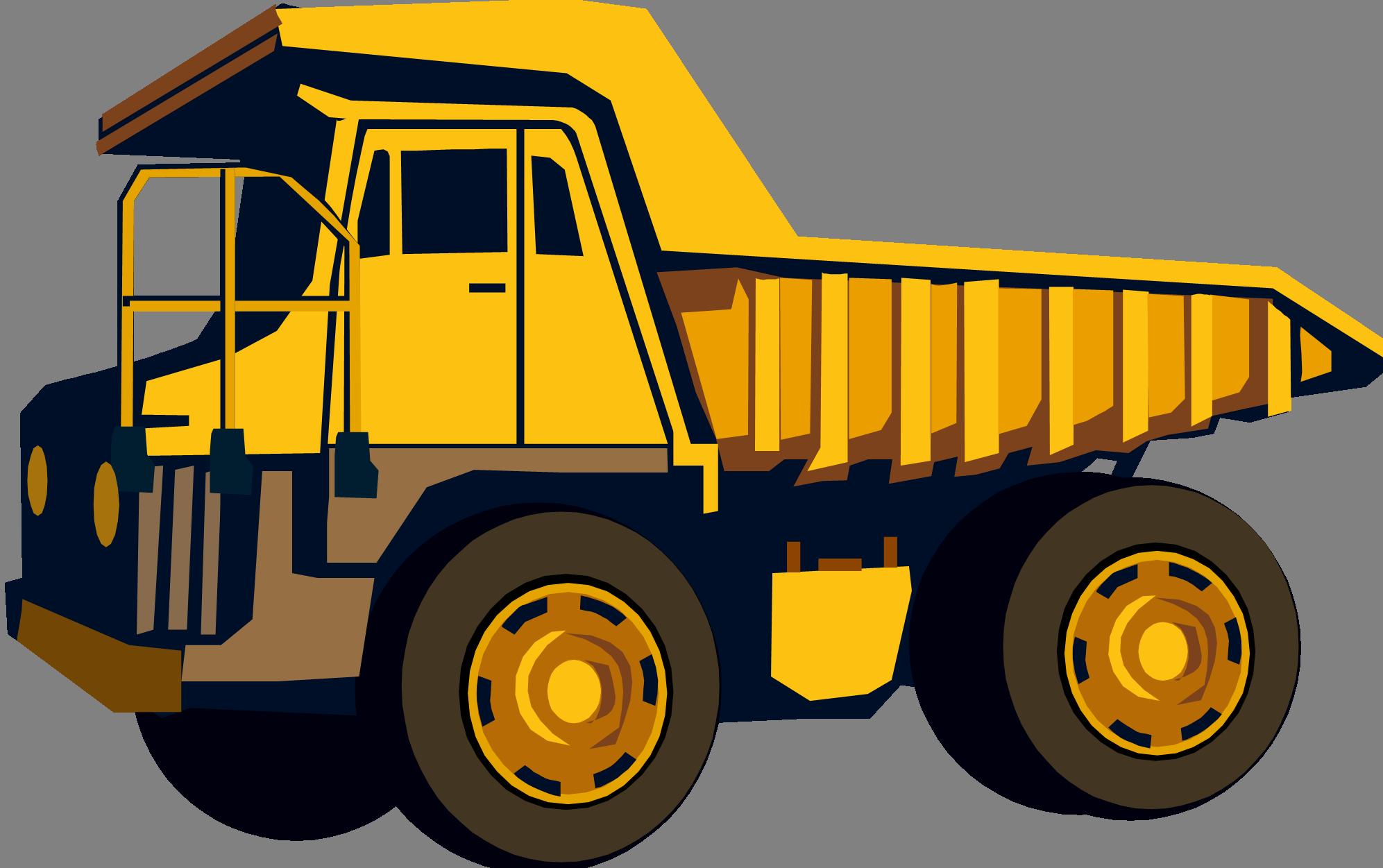 Dump Truck PNG HD - 128004