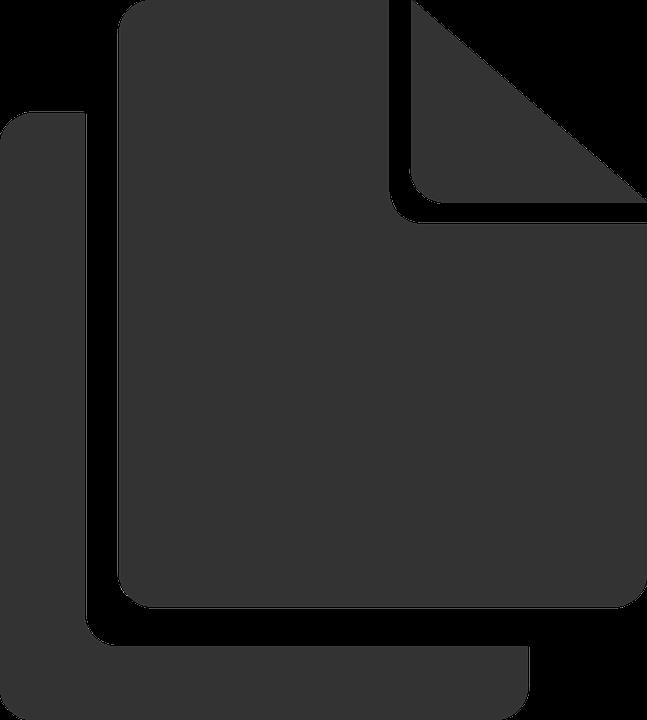 Clone, Copy, Duplicate, Gray, Monochrome, Paper - Duplicate PNG