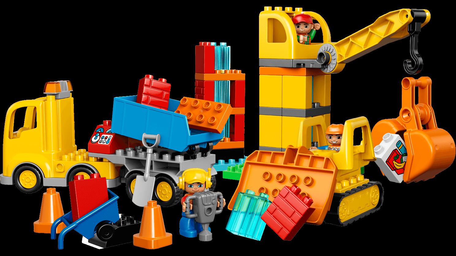 Big Construction Site - Duplo PNG