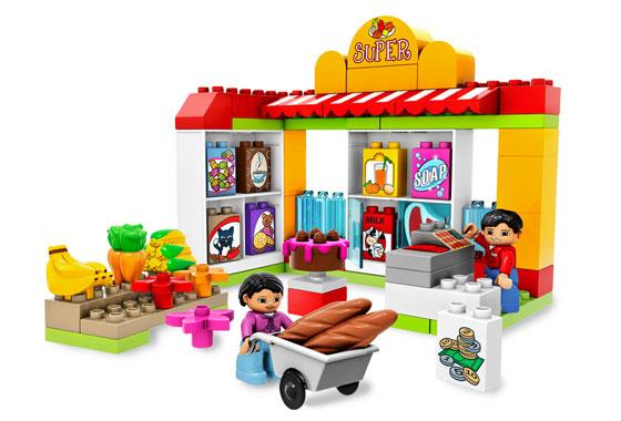 BrickLink - Set 5604-1 : Lego Supermarket [Duplo:Duplo, Town] - BrickLink  Reference Catalog - Duplo PNG