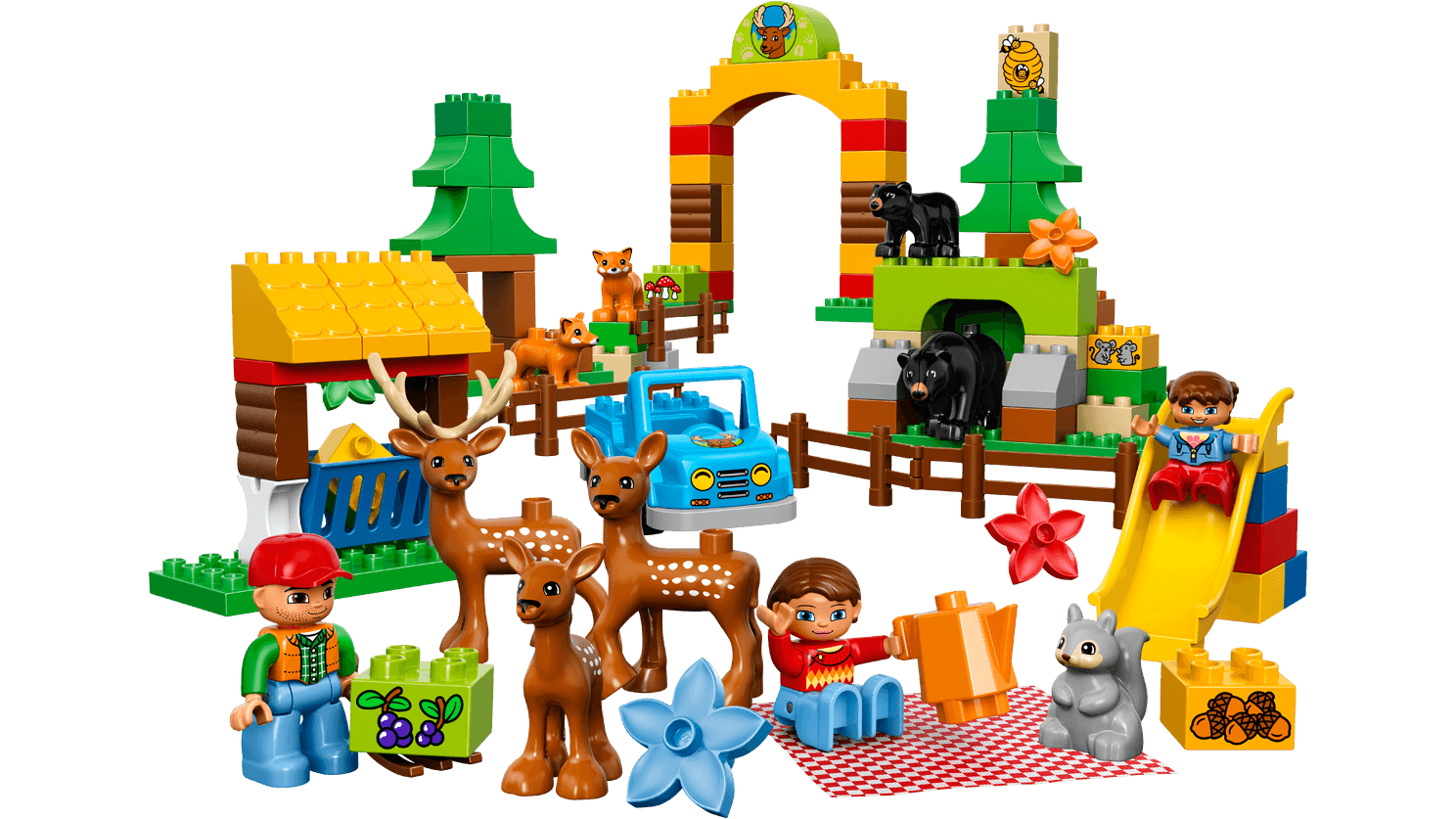Includes child LEGO DUPLO fig