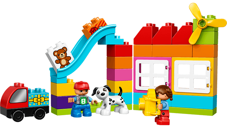 LEGO® DUPLO® Creative Building Basket - Duplo PNG