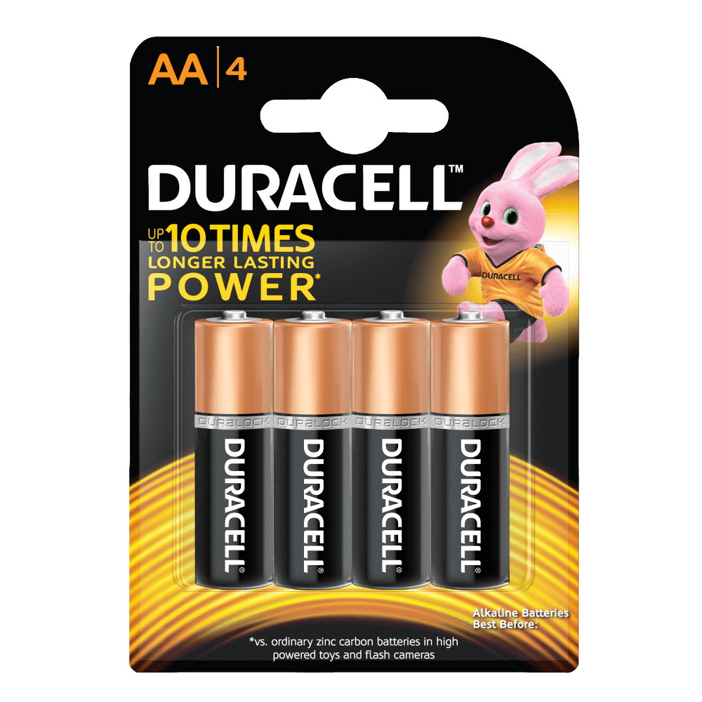 Basic AA Batteries - Duracell PNG