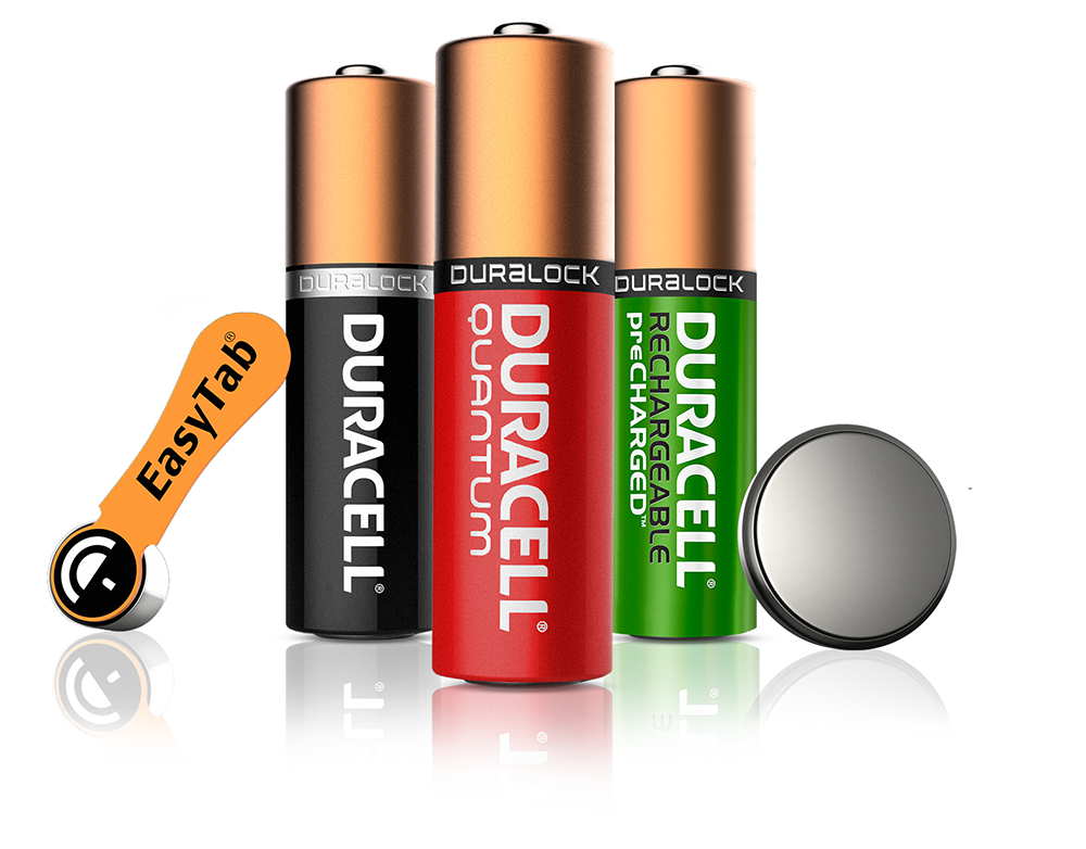 Duralock Technology - Guaranteed for years in Storage - Duracell PNG