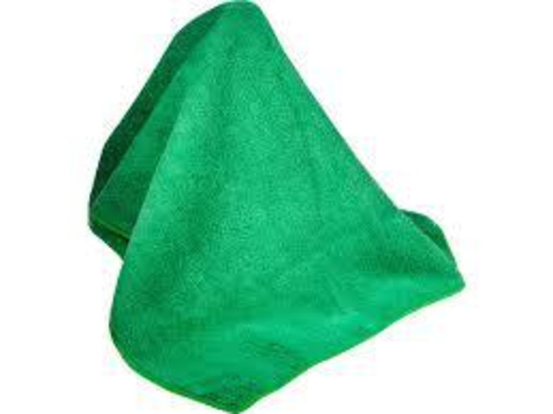 Microfiber Dust Cloth -Green - Dust Rag PNG