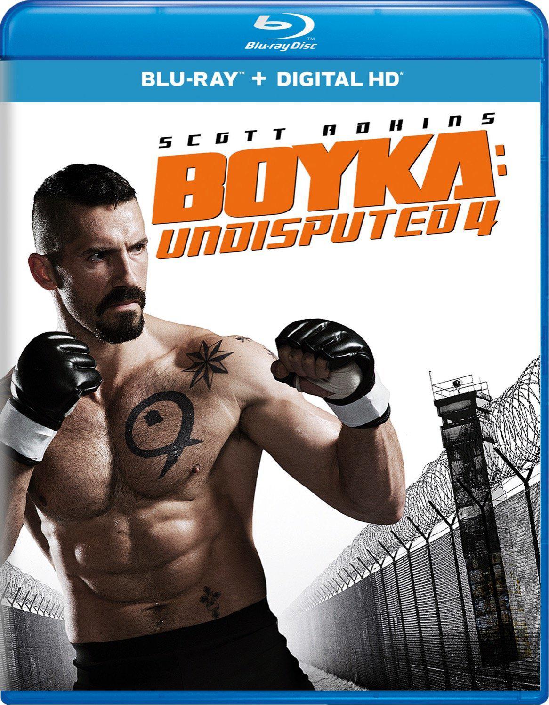 Boyka: Undisputed IV | Blu-ray u0026 DVD (Universal) - Dvd Movie PNG