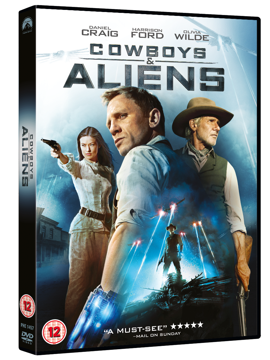 Cowboys and Aliens DVD Packsh