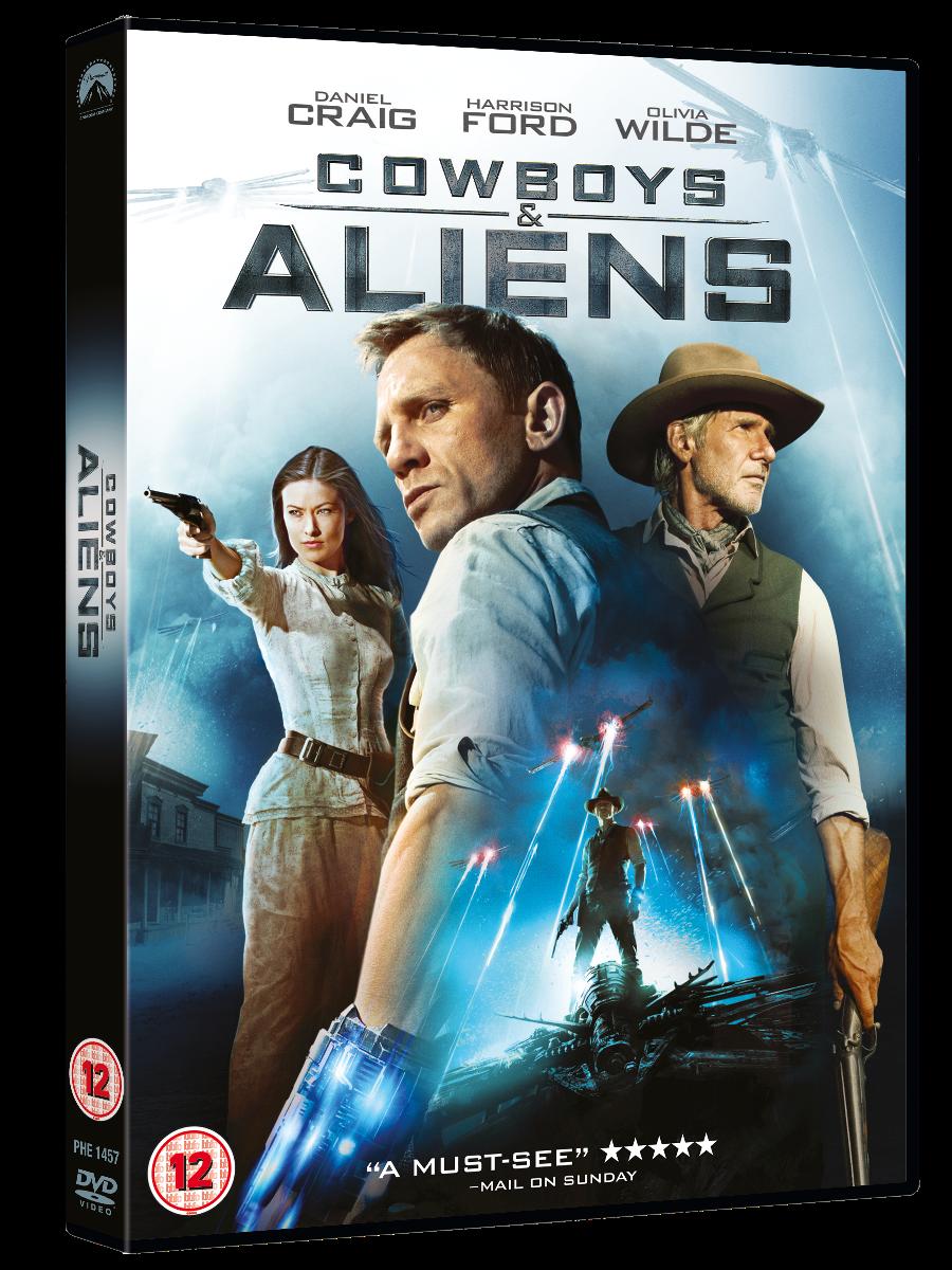 Cowboys and Aliens DVD Packshot - Dvd Movie PNG