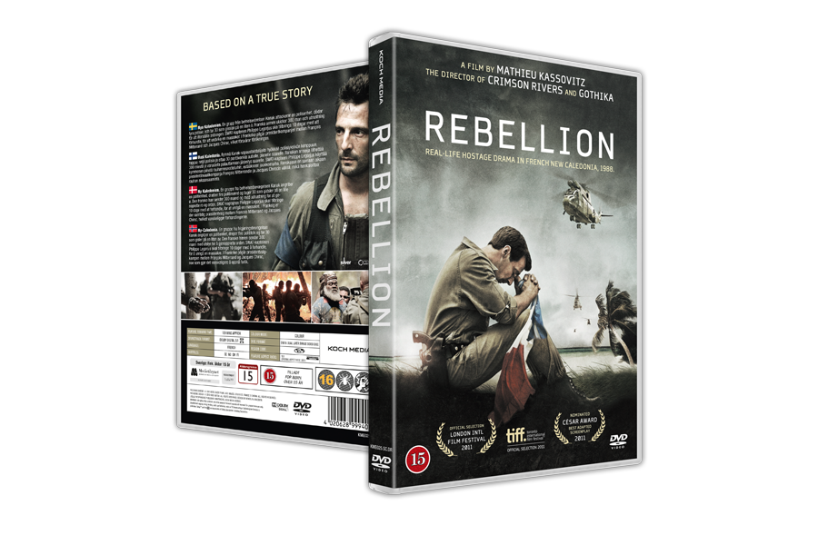 Design of dvd packaging for the movie Rebellion. Client: Koch Media. - Dvd Movie PNG