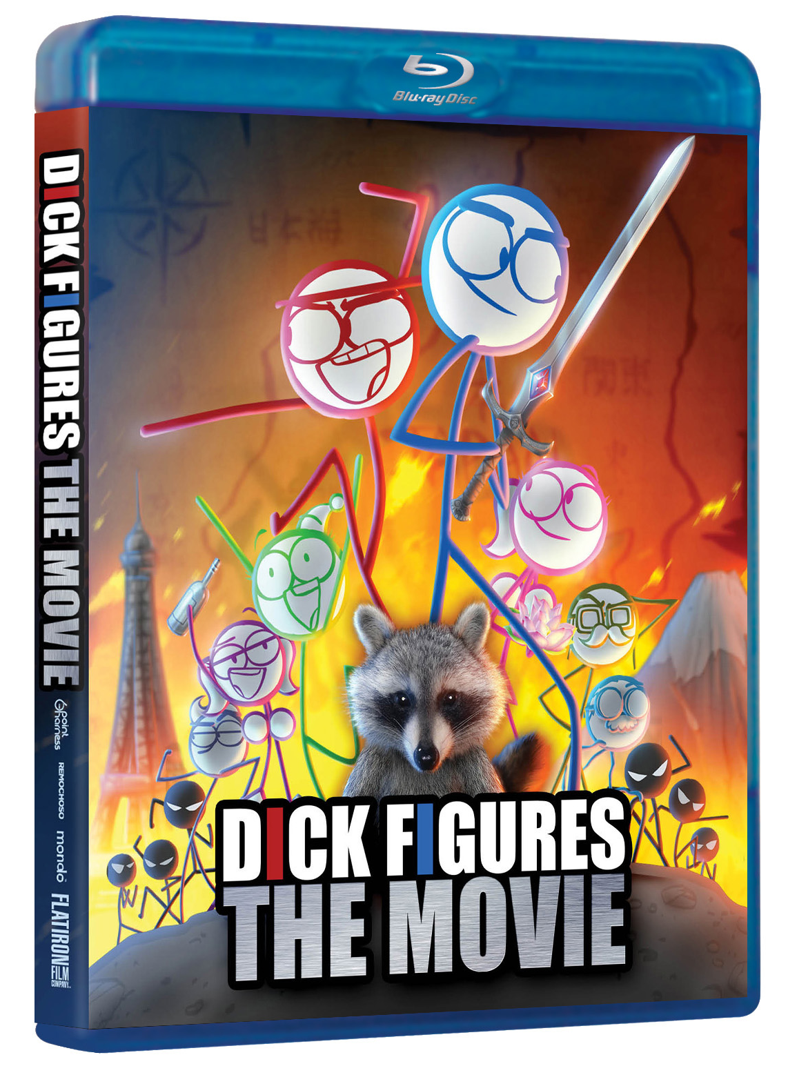 Dick Figures Movie DVD.png - Dvd Movie PNG