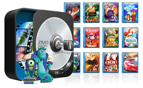 How to Rip Disney DVD Movies with Ease - Dvd Movie PNG