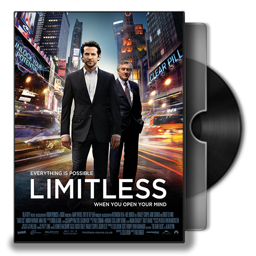 Limitless Movie DVD Folder Icon by Omegas82128 PlusPng.com  - Dvd Movie PNG