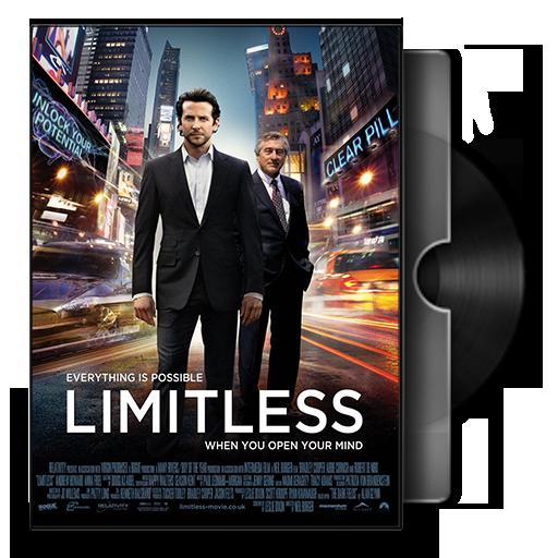Limitless Movie DVD Folder Ic