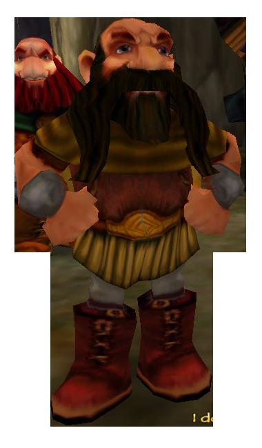 Bofur Dwarf.png - Dwarf HD PNG