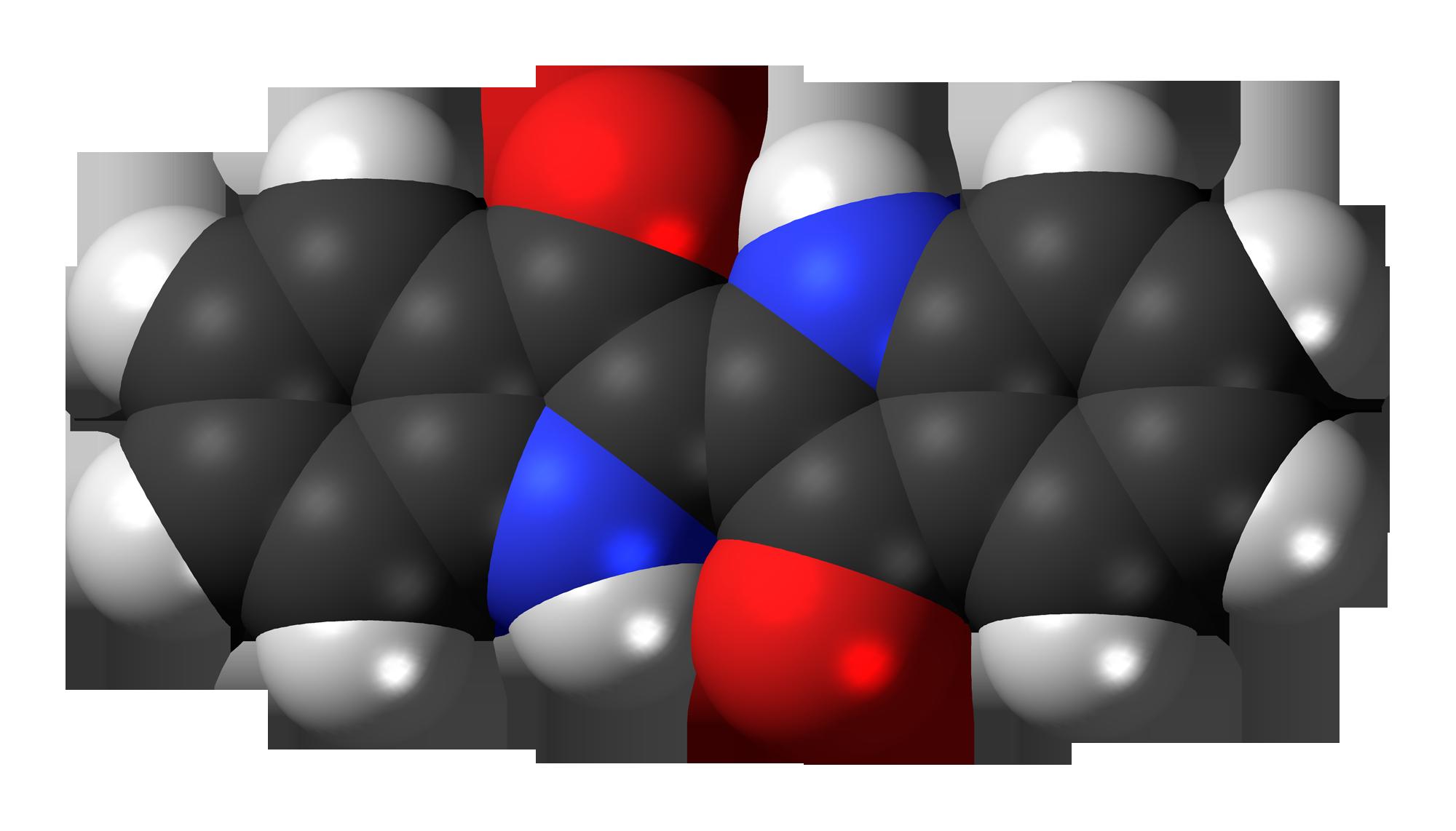 File:Indigo dye 3D spacefill.png - Dye PNG