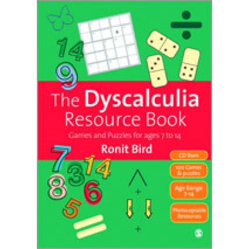 The Dyscalculia Resource Book: Games and Puzzles for ages 7 to 14 - Dyscalculia PNG