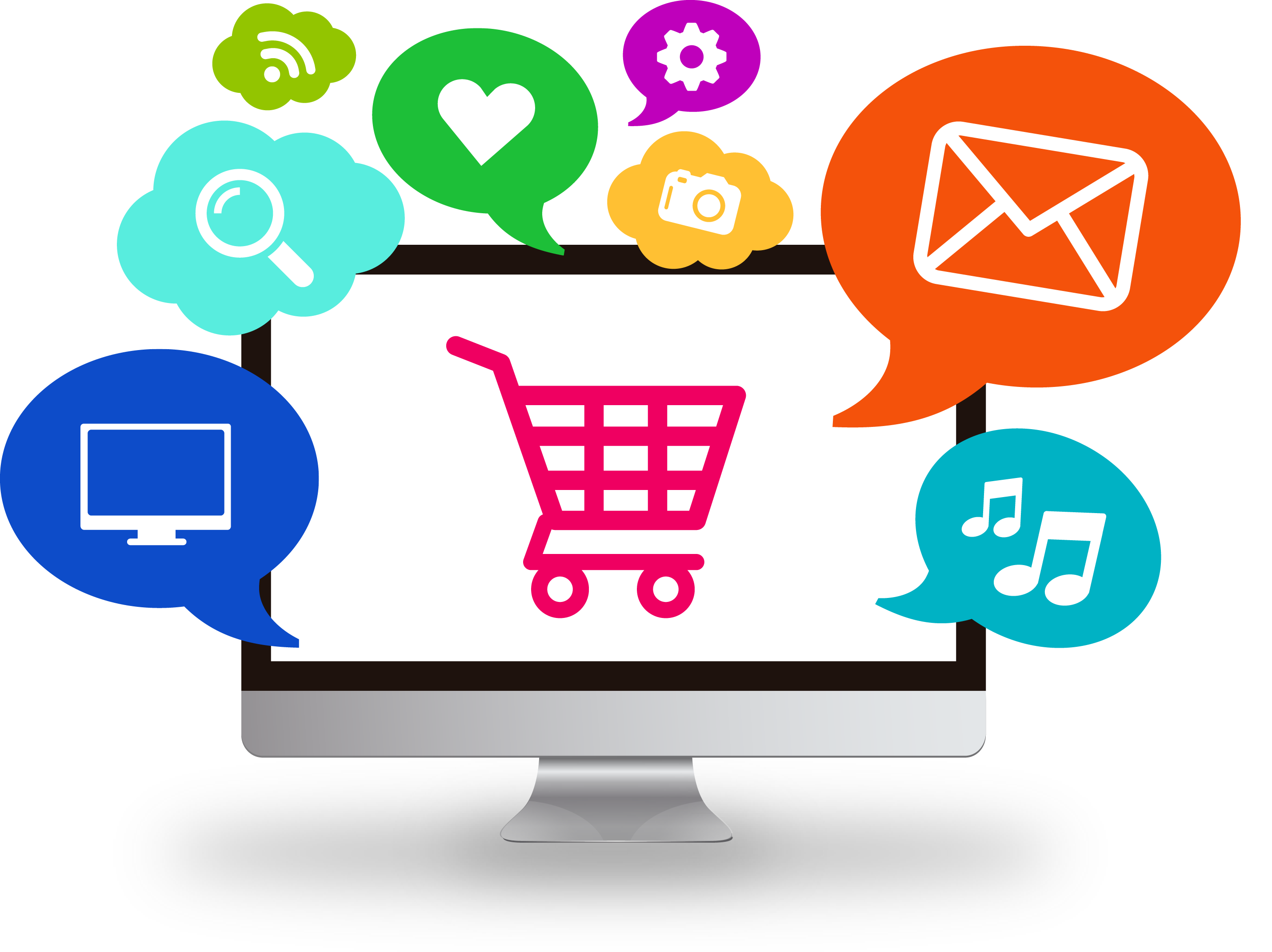 Amazon Fundamental - E Commerce PNG