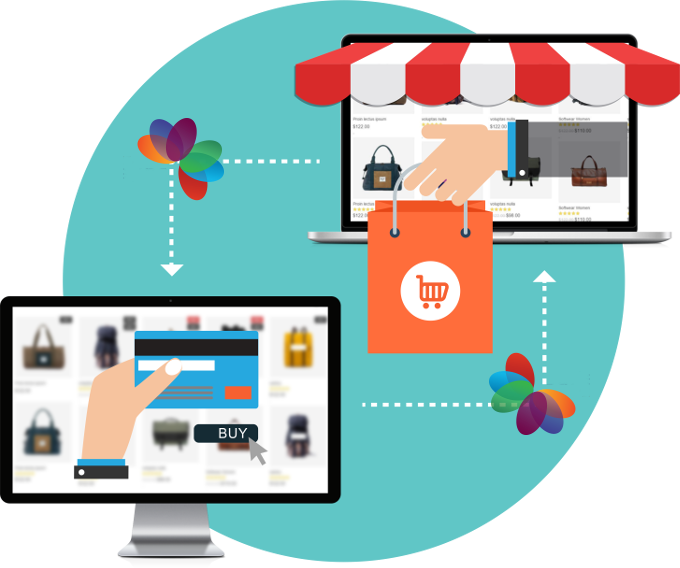 E-COMMERCE. Fast u0026 secure portal which let you focus on sales - E Commerce PNG