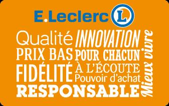 La Carte E.Leclerc - E Leclerc PNG