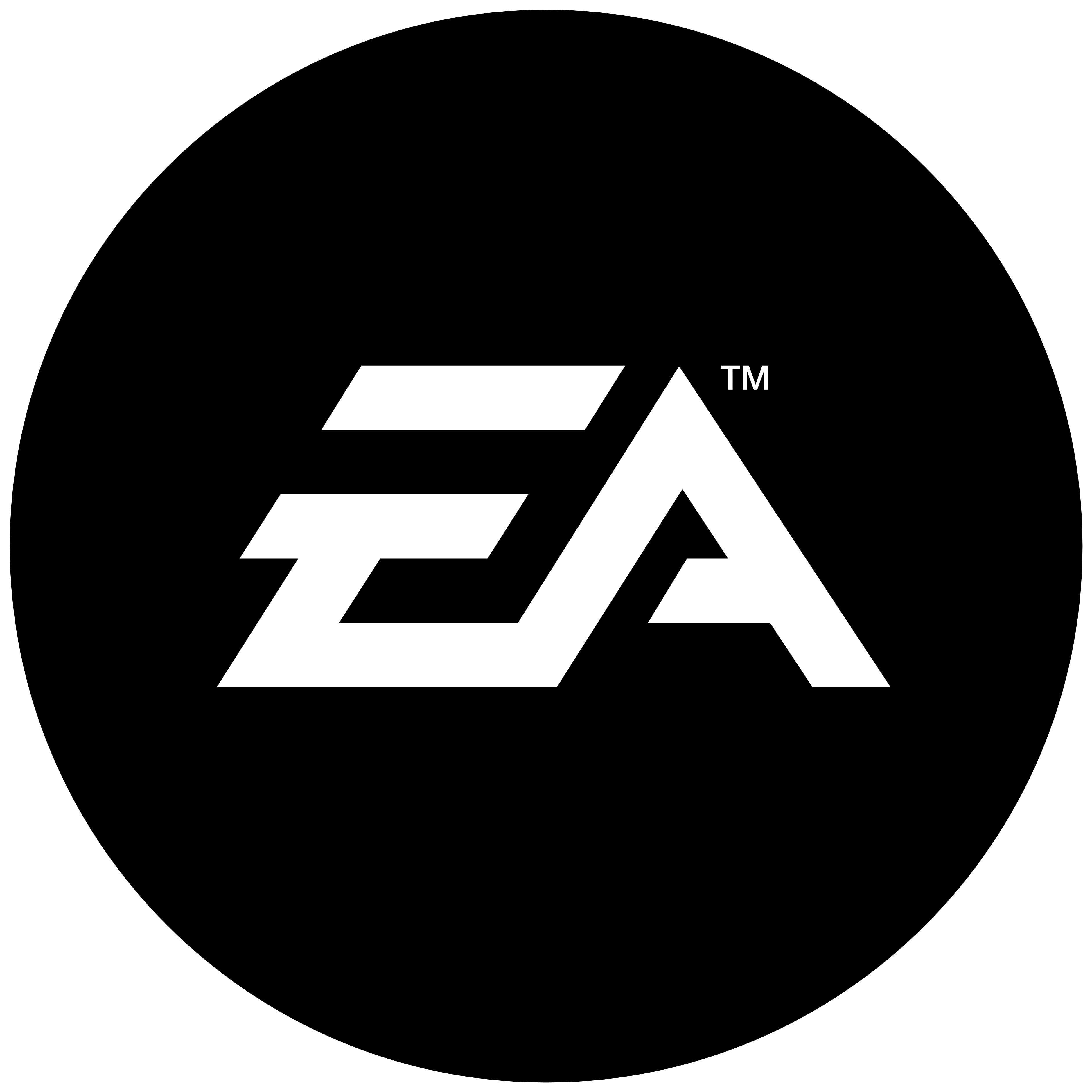 EA logo, black. Some logos are clickable and available in large sizes. Some  of them are transparent (.png). Click the logo and download it! - Electronic Arts PNG