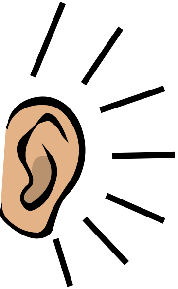 Big Ears Clipart - Ear Listening PNG HD