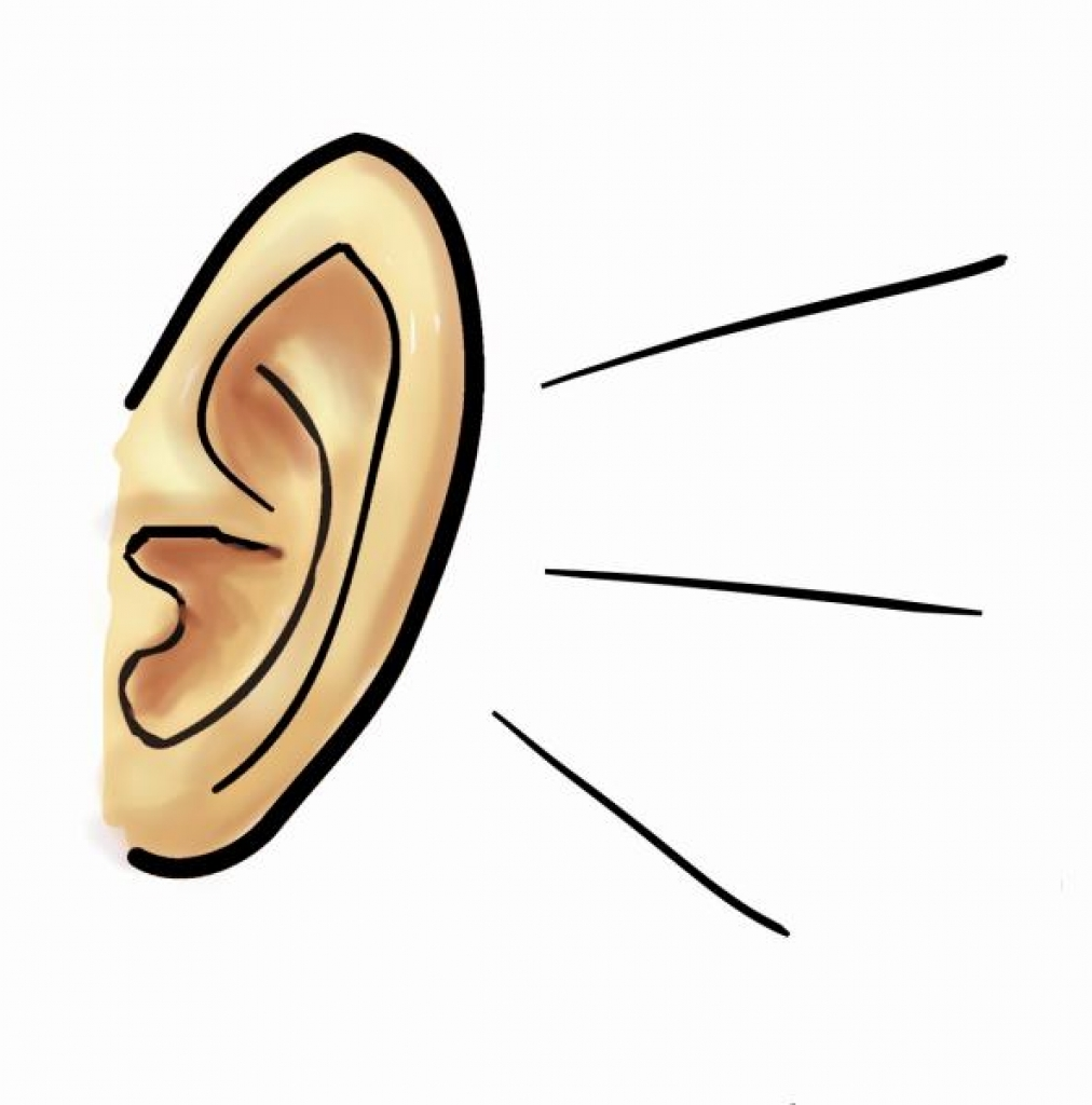Ear Listening PNG HD - 131589