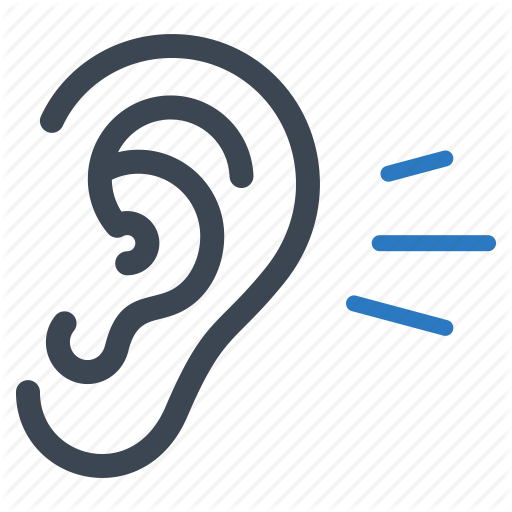 Ear, Healthcare, Hear, Hearing Icon image #2640 - Ear PNG - Ear Listening PNG HD