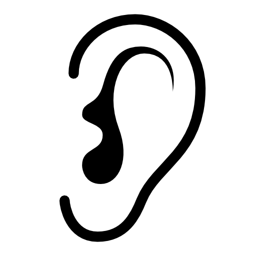 Ear Listen Icon image #2641 - Free PNG Listening Ear - Ear Listening PNG HD