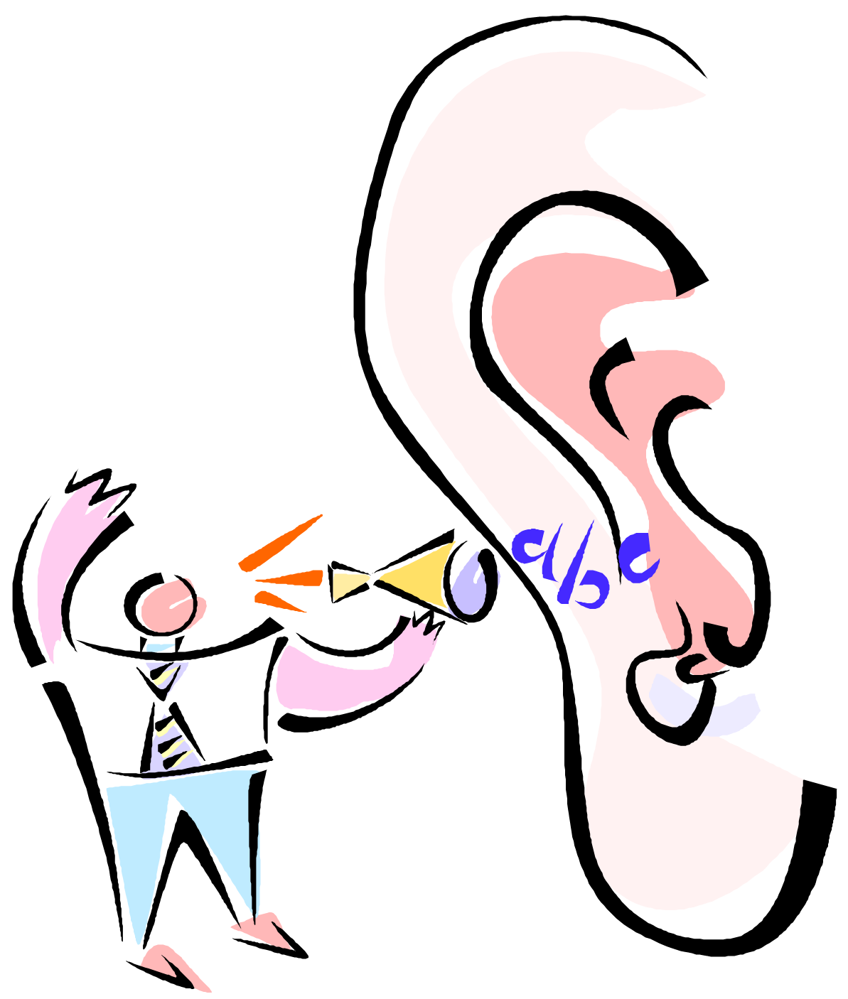Listening Ear PNG File - Free PNG Listening Ear - Ear Listening PNG HD