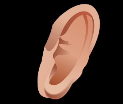 Ear PNG - 6706