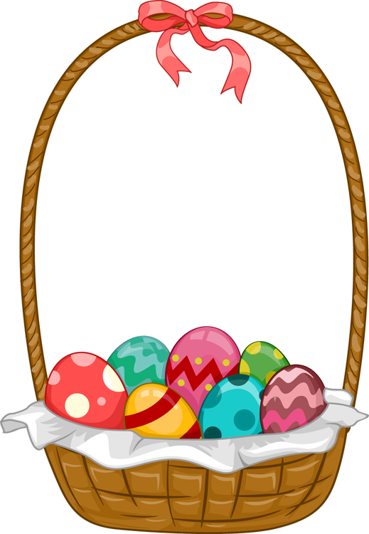 Easter Basket Bunny Png File