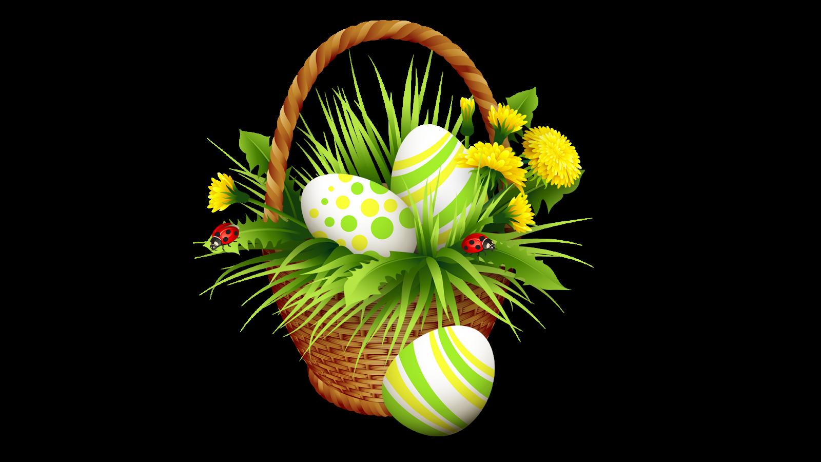 Download PNG image - Easter Basket Bunny Png Clipart - Easter Basket Bunny PNG