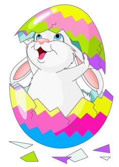easter png | Easter Bunny Clipart Picture with Egg - Easter Basket Bunny PNG