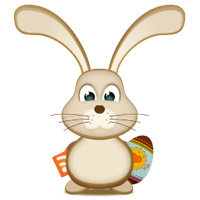 Easter Bunny PNG - 7721