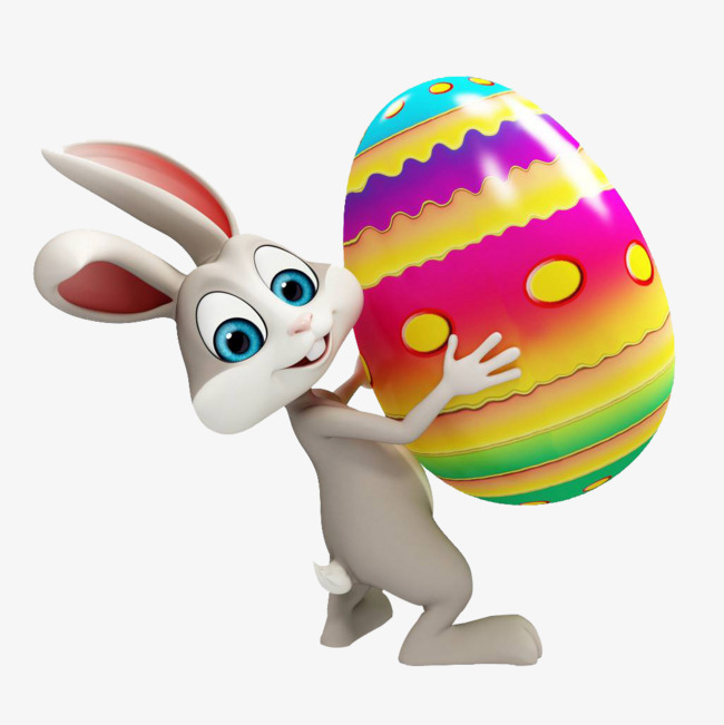 Easter eggs with eggs, Rabbit, Easter, Egg PNG Image and Clipart - Easter Bunny With Eggs PNG