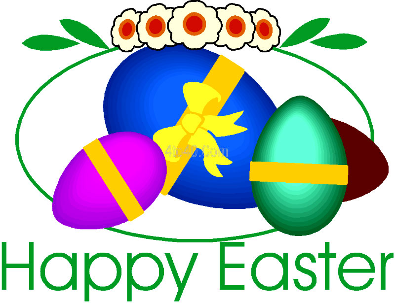 Happy Easter Sunday Clip Art Free And Png Images | Download Free - Easter Day PNG