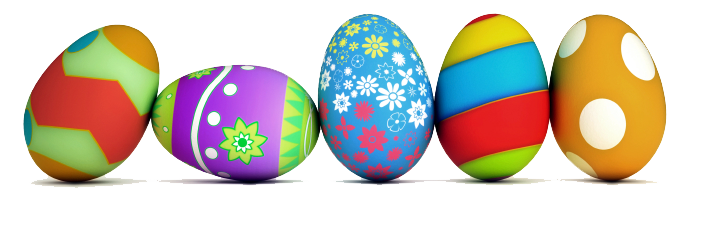 Easter Eggs PNG - 8499